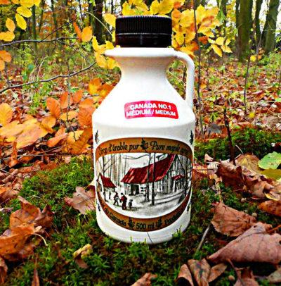 4 x 500 ml dzbanek syrop klonowy- Twój wybór klasy